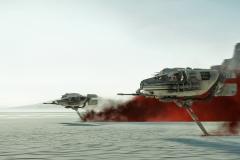 J'aime beaucoup cette image, une bataille dans un champ de sel, très bonne idée des scénaristes
