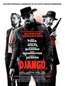 Affiche de Django Unchained, film de Quentin Tarantino