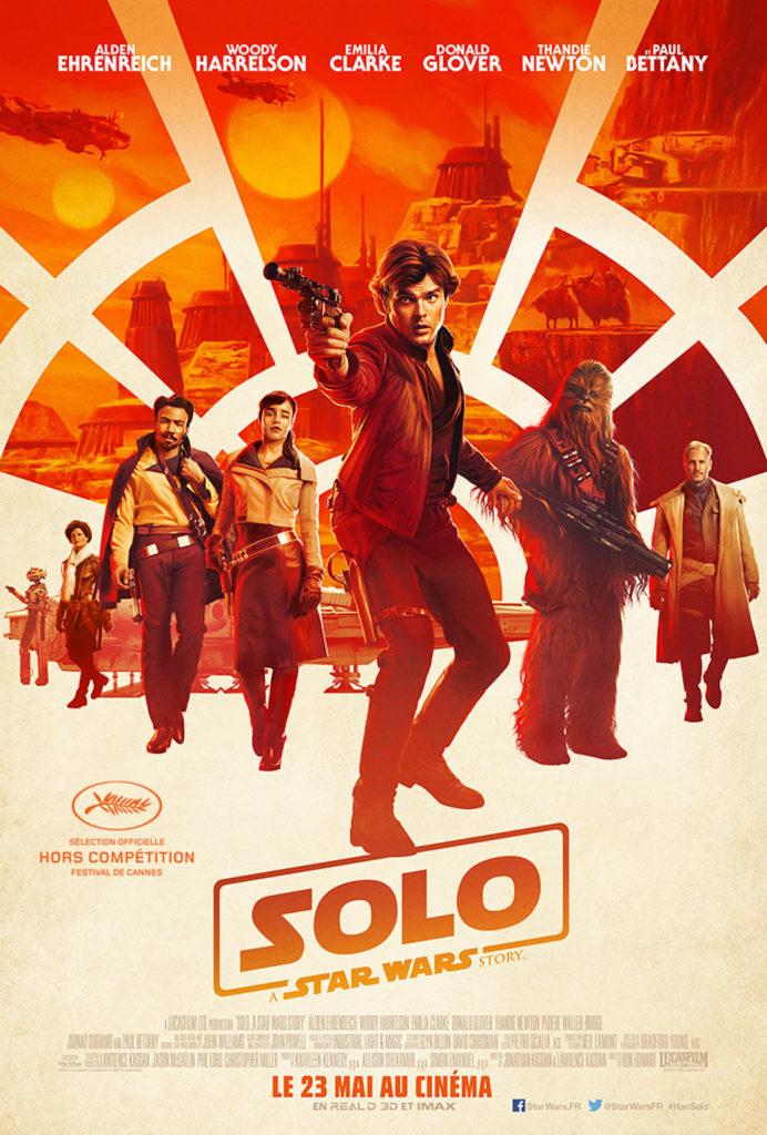Affiche de Solo: a Star Wars Story