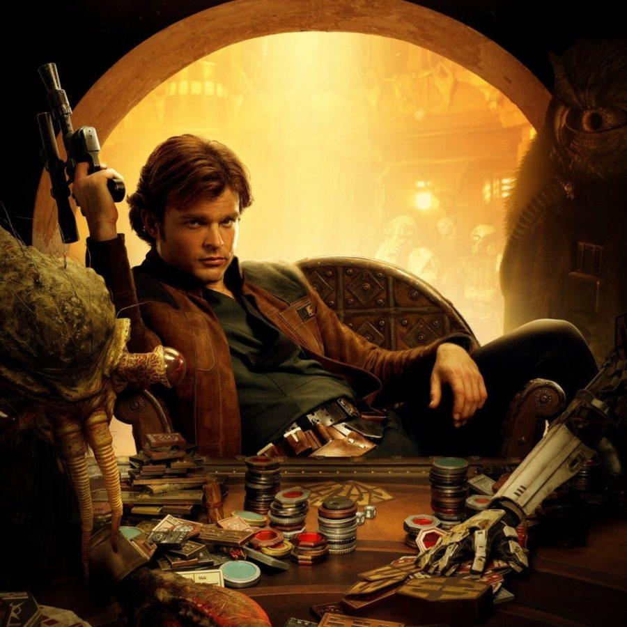 Très beau dessin de Han Solo