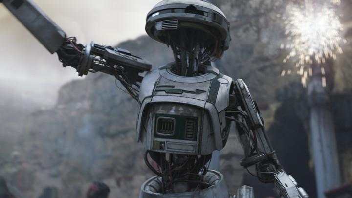 Le robot femme de Solo a Star Wars Story