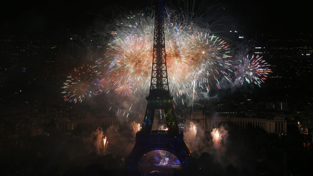 Sense8-Final à la tour Eiffel