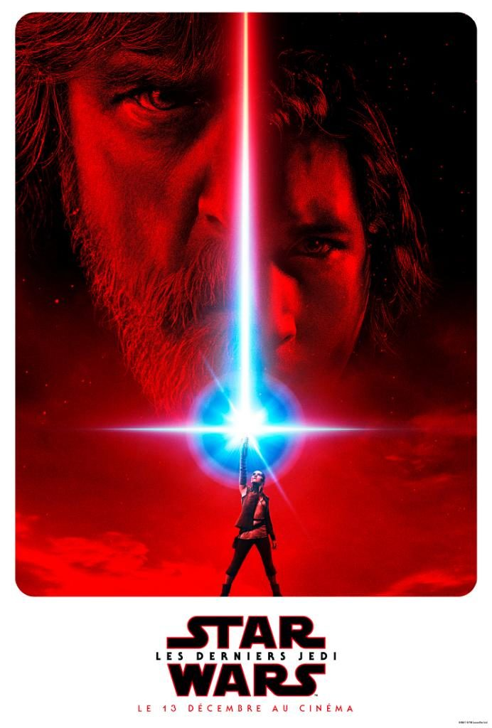 Star Wars-Les Derniers Jedi Affiche