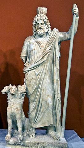 Hadès et Cerbère